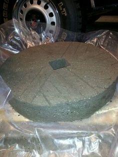 hypertufa millstone