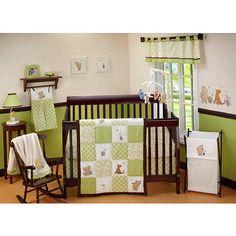 "Disney Classic Pooh - My Friend Pooh 4-Piece Crib Bedding Set - Disney Baby Classic Pooh - Babies ""R"" Us"