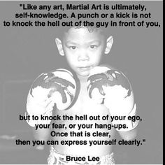 "martial arts quotes #kickboxing #ego"""