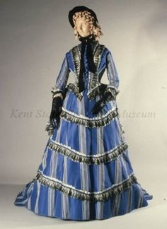 Object Name	Dress  Date	1865-1870  Culture	American, attributed