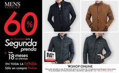 Dale un vistazo a nuestras #Chamarras para la temporada #OtoñoInvierno. Viste a la moda, viste #Fashion #BuenFin  Dale clic ya: www.mensfashion.com.mx