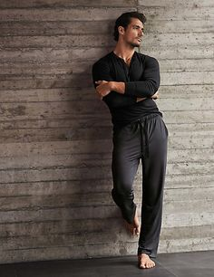 Long Wrap Dressing Gown David Gandy #GandyForAutograph M&S Line