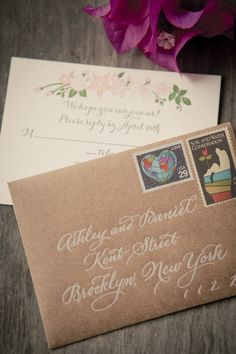 #calligraphy #handlettering #wedding #invitation #envelope #details