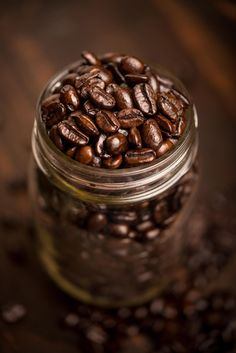 Jar full of healthy, nutritious, delicious #coffee beans...if you love… #CoffeeBeans