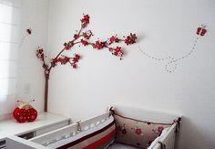 Sonho da mamãe... veja mais quartos de bebê no Blog: http://milenegualberto.blogspot.com.br/2011/11/quartos-de-bebe.html
