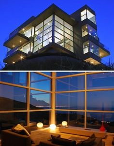 Ultra modern house with panoramic ocean views!