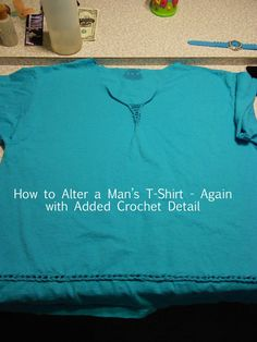 How to Alter a Man's T-shirt Again DSCN0317