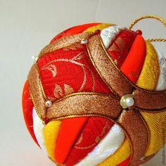 Новый год 2015 ручной работы. Ярмарка Мастеров - ручная работа Восточный экспресс - елочный шар коллекционный кимекоми кимэкоми. Handmade.