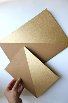 The House That Lars Built.: 30 til 30: Gold colorblocked notebooks DIY