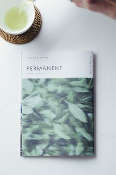 "PERMANENT ISSUE 2 - ""MAKE, EAT, THINK"" FOOD CULTURE SMALL PRESS MAGAZINE"