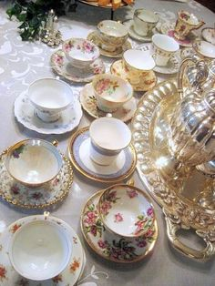 .wonderful way to serve tea party