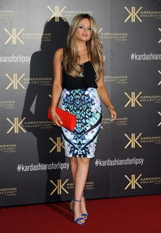 Emily Atack used her fame as a ticket to meet a Kardashian