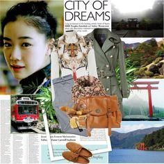 """Travelling Japan,Hakone"" by rainie-minnie ❤ liked on Polyvore"
