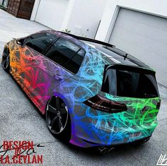 The colours and overall effect… - Cars and motor Scirocco Volkswagen, Volkswagen Golf, Allroad Audi, Supercars, Bmw Autos, Car Painting, Modified Cars, Car Wrap, Bugatti