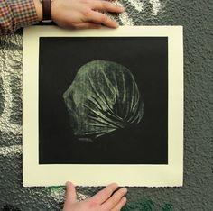 "Zoran Mishe -""Blind consciousness I ""- mezzotint Paper Blinds, Conceptual Art, Consciousness, Printmaking, Surrealism, Buy Art, Paper Art, Saatchi Art, Original Art"