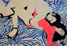 """Saatchi Art Artist Eduardo Bessa Rodrigues; Painting, """"Fu*ked up Story."""" #art"""