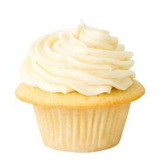 Golden Buttermilk Cupcake with Fresh Lemon Icing