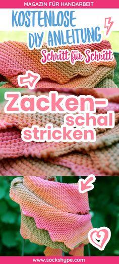 192 besten Stricktücher Bilder auf Pinterest in 2018 | Knitting ...