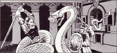 Jim Roslof, from AD&D module I1 Dwellers of the Forbidden City, TSR, 1981.