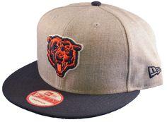 1ad942a3fe4 Chicago Bears New Era Retro Custom Gray Adjustable Snapback Hat