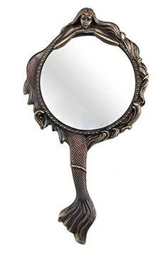 Mermaid Hand Mirror Collectible Decoration Figurine Cold ... https://smile.amazon.com/dp/B01J97A8ZG/ref=cm_sw_r_pi_dp_x_jR-XzbMFZ97VE
