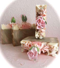"""""""Marie Antionette"""" Artisan Handmade Soaps"""