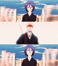 """""""See ya later, Rukia."""" """"I wonder how many times you're going to say that."""""""