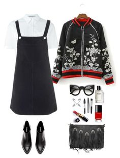 """""""Sin título #1682"""" by mussedechocolate ❤ liked on Polyvore featuring T By Alexander Wang, Topshop, Rebecca Minkoff, Bobbi Brown Cosmetics, Chanel and Sephora Collection"""
