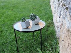 concrete creations Concrete, Table, Furniture, Home Decor, Homemade Home Decor, Mesas, Home Furnishings, Desk, Decoration Home