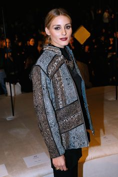Olivia Palermo - H&M Studio Fall 2016 Show - March 2, 2016 #PFW #FW16
