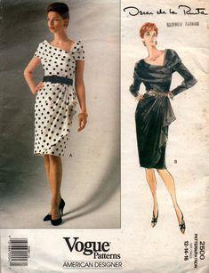 Vogue Sewing Patterns Vintage Designer Women/'s Dresses Suits Tops Pants Gowns