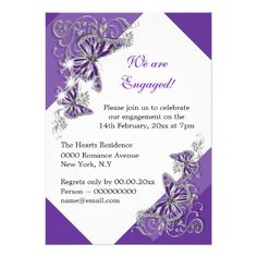 >>>Are you looking for          	Purple butterfly engagement wedding anniversary custom invitations           	Purple butterfly engagement wedding anniversary custom invitations This site is will advise you where to buyDiscount Deals          	Purple butterfly engagement wedding anniversary cu...Cleck See More >>> http://www.zazzle.com/purple_butterfly_engagement_wedding_anniversary_invitation-161898851593084135?rf=238627982471231924&zbar=1&tc=terrest
