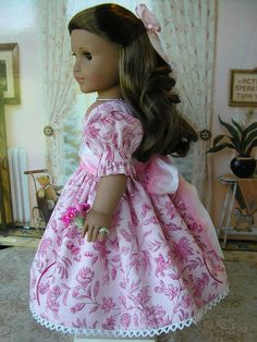 American Girl doll mid-1800s or present day by dolltimes on Etsy