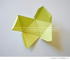Base pour suspension origami