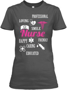 Are you doing Nursing job? Are you fans of nurse?  Let's get your Nursing T-Shirts