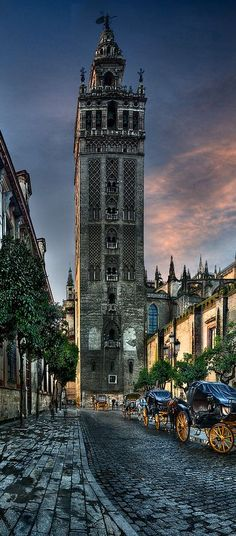 *SEVILLE, SPAIN ~ The Giralda ,