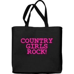 Lightweight Tote Bag - Country Girls Rock