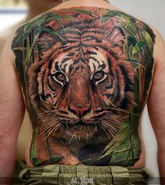 Absolutely incredible back piece. Tattoo by @tattoosigal. #inked #inkedmag…