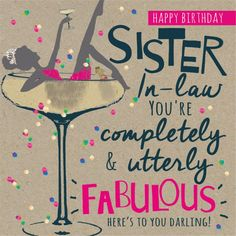 Birthday Wishes for Sister in Law | WishesGreeting