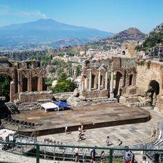 Teatro griego,  Taormina