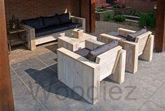 steigerhouten loungeset - Google zoeken Outdoor Furniture Sets, Outdoor Decor, Backyard Ideas, Freedom, Home Decor, Google, Gardens, Pallets, Garden Deco