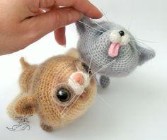 020 Kittens Amigurumi Cat by Pertseva pattern on Craftsy.com