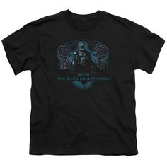 DARK KNIGHT RISES GOTHAMS DARK KNIGHT Youth Short Sleeve T-Shirt