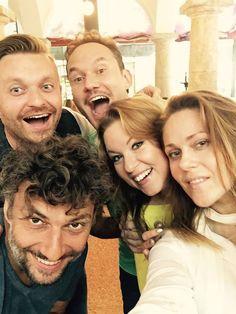 Opera selfie : Jonas Kaufman, Kristine Opolais, Mariusz Kwiecien ...