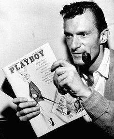 Hugh Heffner, Playboy founder and publisher