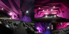 HDIL-Broadway | Mumbai - INDIA Sky Cinema, Cinema Theatre, Theatre Design, Movie Theater Rooms, Home Theater, Chief Architect, Architect Design, Pvr Cinemas, Courtyard Marriott