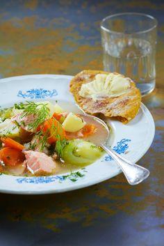 Norjalainen lohikeitto | Muut maat | Pirkka #food #Norway