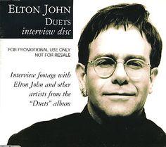 Elton John Duets Interview Disc.