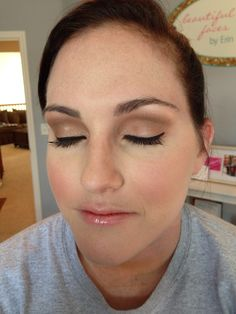 Natural wedding make up -- beautiful faces by Erin