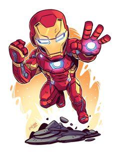 Chibi Superhero, Chibi Marvel, Marvel Art, Marvel Heroes, Marvel Avengers, Deadpool Chibi, Marvel Drawings, Cartoon Drawings, Cartoon Art